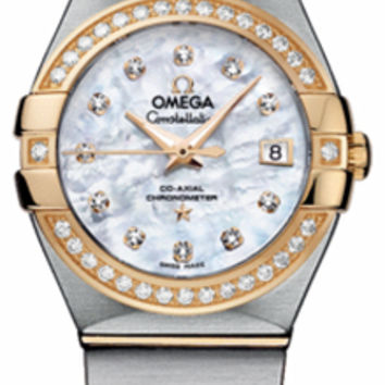 Omega Constellation Ladies Automatic Watch 123.25.27.20.55.003