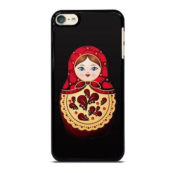 MATRYOSHKA RUSSIAN NESTING DOLLS iPod Touch 4 5 6 Case Cover