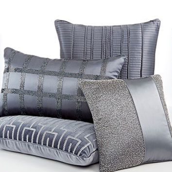Hotel Collection Bedding, Finest Velvet and Silk Panels Decorative Pillows - Decorative Pillows - Bed & Bath - Macy's