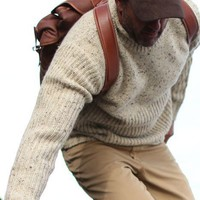 Chunky Fisherman Roll Neck  | J.L. Powell