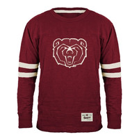 Missouri State University Bears Gameday Mascot Slub T-Shirt - Maroon