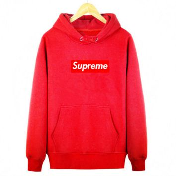 1c48ffaa55fc Supreme With thick printed letters long sleeve T-shirt hoodie Re