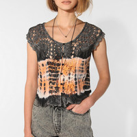 Urban Outfitters - We All Shine By MINKPINK Magic Shroom Crochet Top