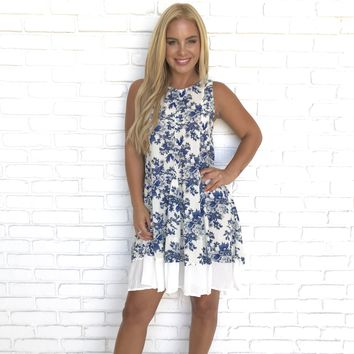 Lisa Floral Shift Dress
