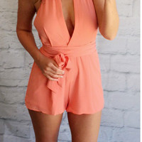 Tell me Your Secrets Romper