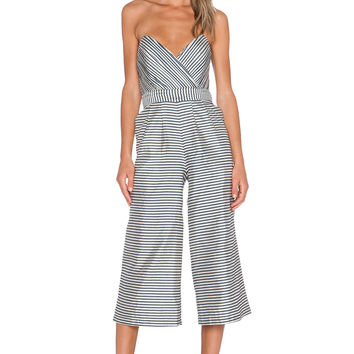 NBD Be My Lover Jumpsuit in Stripe