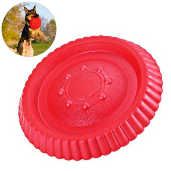 Dog Durable Fetch Frisbee