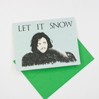 """Game of Thrones """"Let It Snow"""" Holiday Card"""