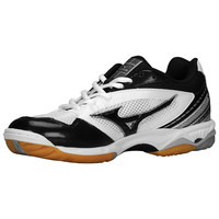 Mizuno Women's Wave Hurricane Volleyball Shoes - White Black