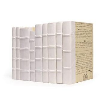 Linear Foot of Books | White