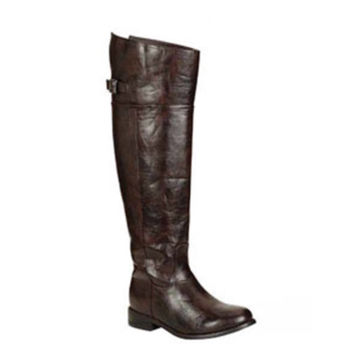 """Always My Style"" Above Knee Brown Tall Riding Boots"
