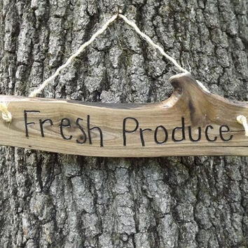 farmhouse sign/ fresh produce/ door sign/ personalized sign/ farmers market