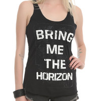 Bring Me The Horizon Logo Girls Tank Top
