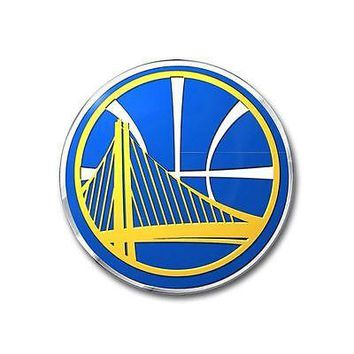 Golden State Warriors Auto Emblem NBA Car Accessories Team ProMark Chrome