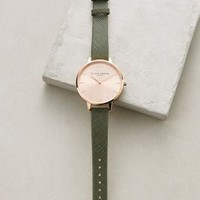 Olivia Burton Big Dial Watch in Khaki Size: One Size Watches