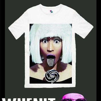 worldwide shipping just 7 days NICKI MINAJ men t shirt 3005