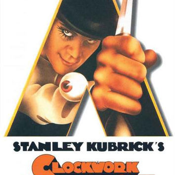Clockwork Orange Film Art Poster 24x36