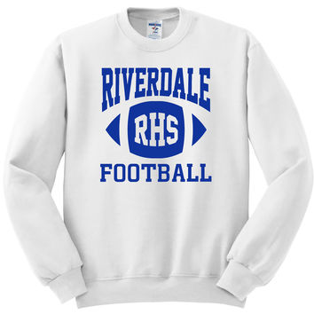 "Riverdale ""RHS Football"" Crewneck Sweatshirt"