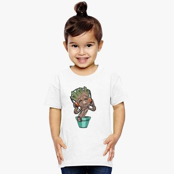 Dancing Baby Groot Toddler T-shirt | Customon.com