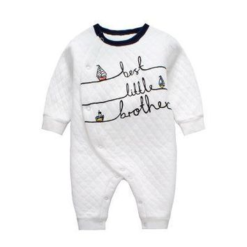 Newborn Baby Rompers Full Sleeve Winter Underwear Jumpsuit Infant Halloween Costume New Born Baby Boys Clothes Girls Nightgown