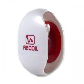 Recoil Spring-loaded Automatic Cord Winder