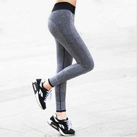 Sexy High Waist Stretched Gym Clothes