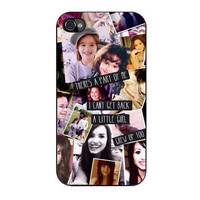 demi lovato art iPhone 4 4s 5 5s 5c 6 6s plus cases