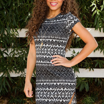 Orianna Aztec Dress