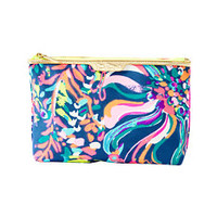Clear Water Zip Pouch | 20885 | Lilly Pulitzer