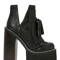 Jeffrey Campbell O-Quinn Platform Boot - Black