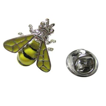 Yellow Bee Lapel Pin