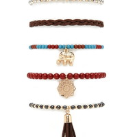 Jewelry - Bracelets - Stretch + Wrap | WOMEN | Forever 21