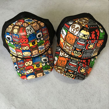 Lovely Children Cartoons Stylish Hats Cap Baseball Cap [9730958019]
