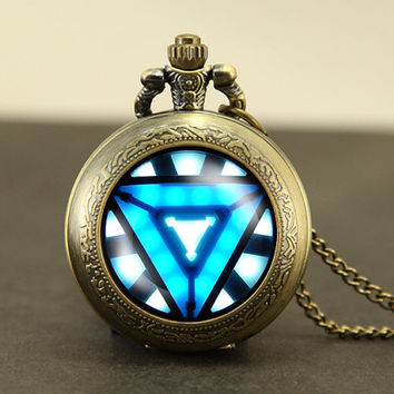 portal valve glados aperture science pocket watch locket Necklace Jewelry