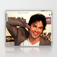 Ian Somerhalder The Vampire Diaries Laptop & iPad Skin by Toni Miller | Society6