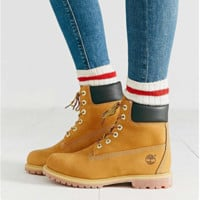 Timberland Fashion Winter Waterproof Boots Martin Leather Boots Shoes light brown H-AA-SDDSL-KHZHXMKH