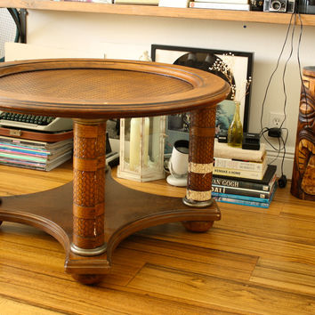 Two-tier Wooden Coffee Table