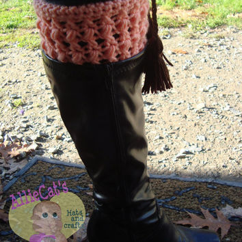 My Fair Lady Boot Cuffs- Crochet Pattern **Instant Download**