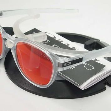 NEW* Oakley LATCH Matte Clear w TORCH Iridium Lens Sunglass oo9265-09
