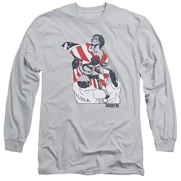 Adult Rocky/Graphic Flag Long Sleeve