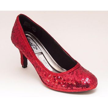 Select Your Color of Starlight Sequin Princess Pumps Needle High Heels