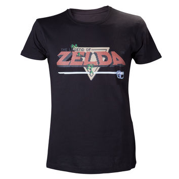 The Legend of Zelda - Retro Black T-Shirt
