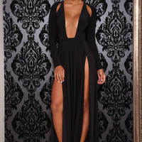 ABYSS BY ABBY ENVY GOWN