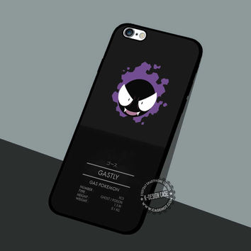 Pokemon Gastly Gas - iPhone 7 6 5 SE Cases & Covers