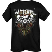 Whitechapel Skulls Slim-Fit T-Shirt Size : Large