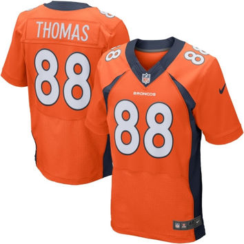 Demaryius Thomas Denver Broncos Nike Elite Jersey – Orange