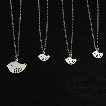 Matching Necklaces for Sisters, Friendship Set, Sterling Silver Jewelry Necklace, Matching Necklace, Mom Daughter Jewelry, Sisterhood Gifts