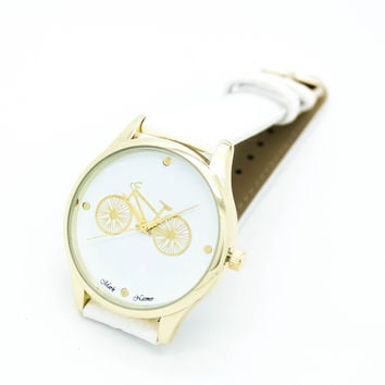 Bicycle strap watch (3 colors)