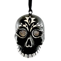 Holiday Ornament Skull Ornament Halloween Ornament