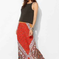 Staring At Stars Straight-Cut Boho-Print Maxi
